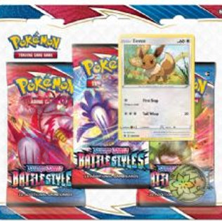 Pokemon Battles Styles Blister Pack Eeve