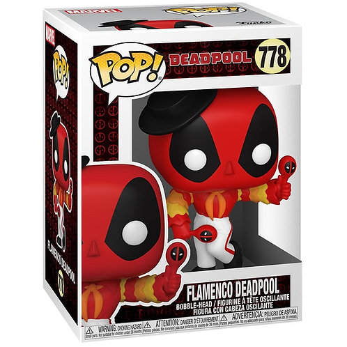 Flamenco Deadpool Funko Pop! Deadpool #778