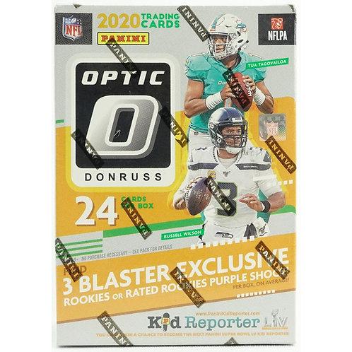 2020 Donruss Optic Blaster Box