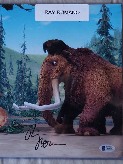 Ray Romano Autographed photo Manny Ice Age