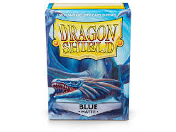 Dragon Shield Sleeves Matte Blue