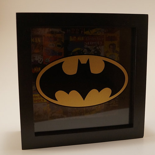 Batman Shadowbox Bank