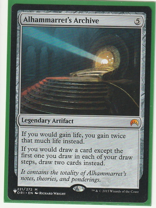 Alhammarret's Archive Mystery Booster #221/272
