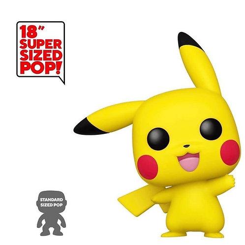 """Pikachu 18"""" Funko Pop! Pokémon #01"""
