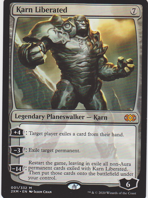 Karn Liberated - Double Masters #001/332