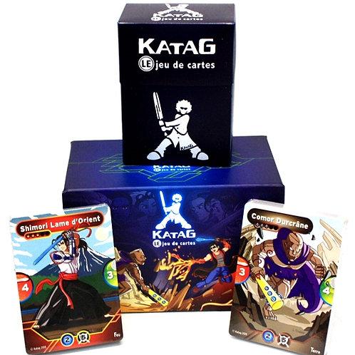 Katag la Terre contre le Feu Paquet de départ (2 joueurs)