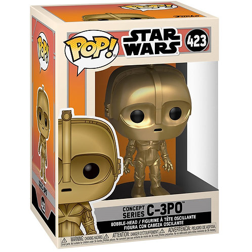 C-3PO Concept Series Funko Pop! Star Wars #423