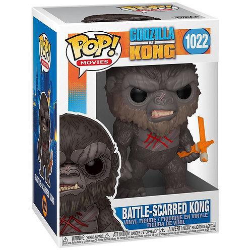 Battle-Scarred Kong Funko Pop! Godzilla Vs Kong #1022