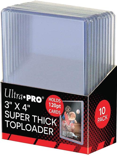 120pt Super Thick Toploader Ultra Pro (10pack)