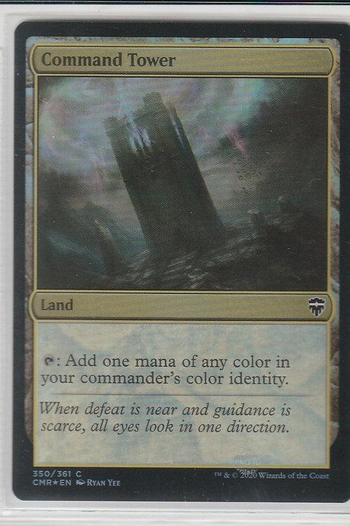 Command Tower Foil Commander Legends #350/361