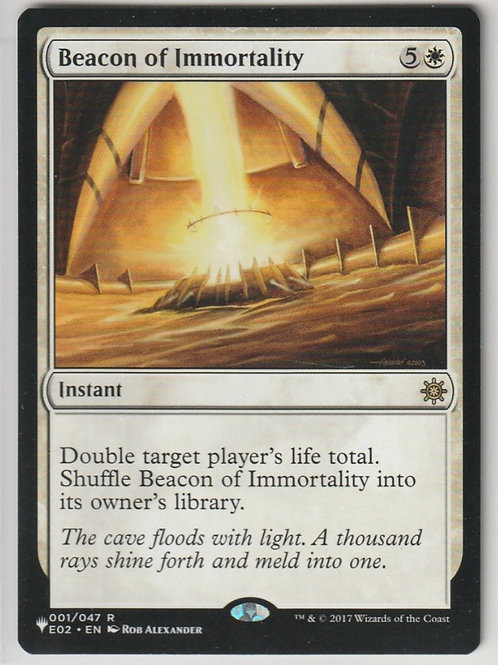Beacon of Immortality Mystery Booster #1/47