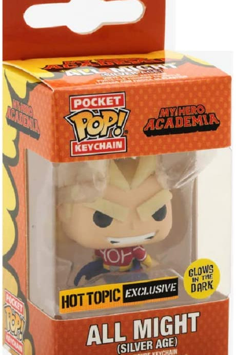 All Might (Silver Age) Pocket Pop! Keychain My Hero Academia Hot Topic Exclusive