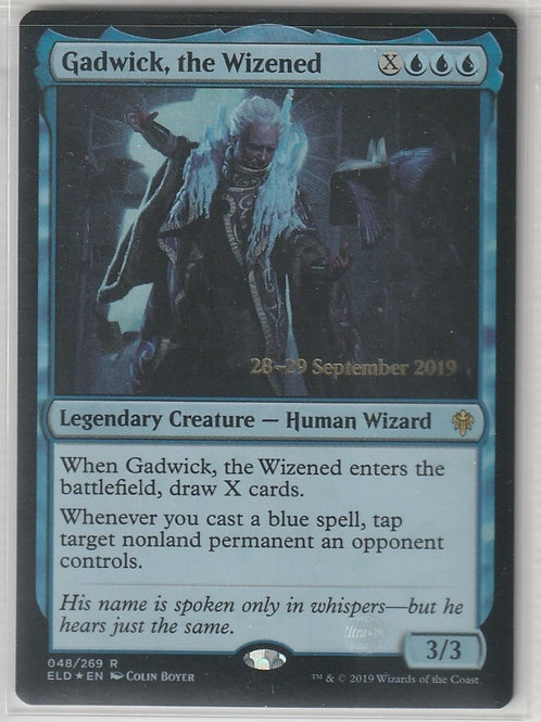 Gadwick, the Wizened Foil Throne of Eldraine Promos #48/269