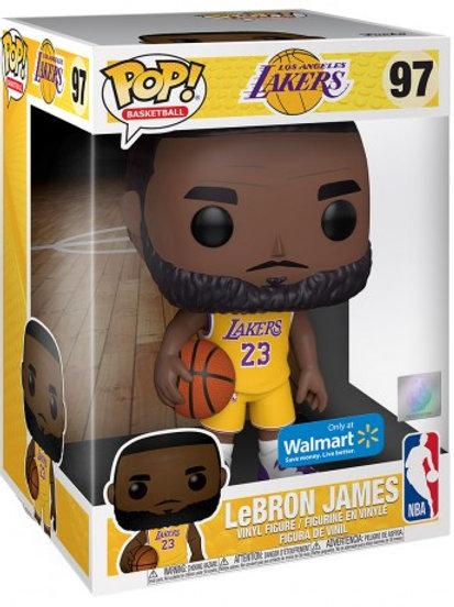 LeBron James 10'' Funko Pop! Los Angeles Lakers #97 Walmart Exclusive