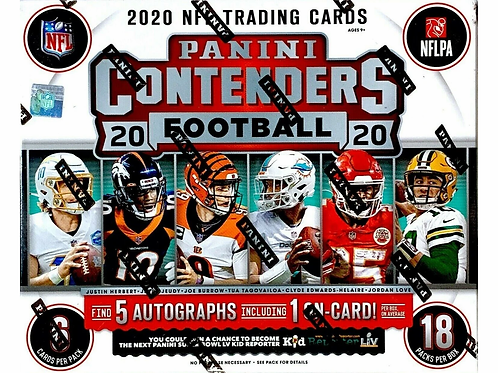 2020 Panini Contenders Football Hobby Pack