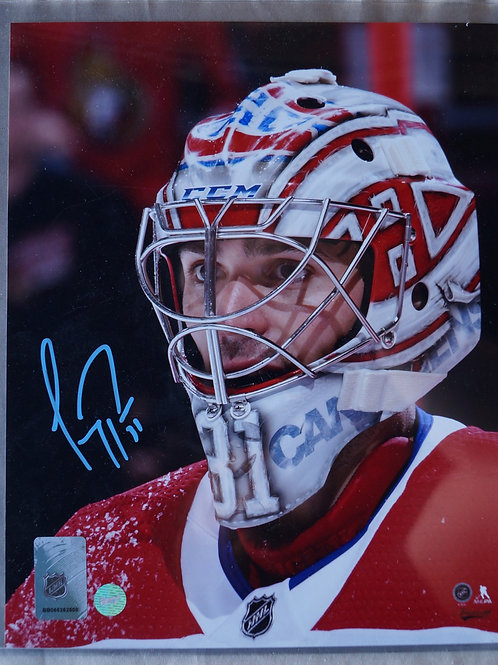 Carey Price Montreal Canadiens Athographed Photo