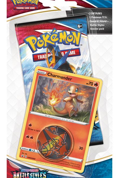 Charmander Pokemon Battle Styles Blister Pack