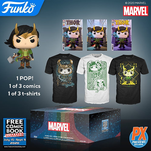 Free Comic Book Day 2020 Exclusive Marvel Mystery Box (XL)