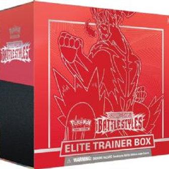 Pokemon Elite Trainer Box Battle Styles Single Strike
