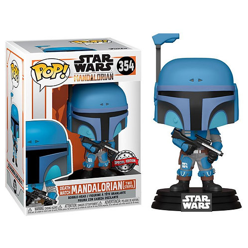 Mandalorian Flashback Blue Funko Pop! Star Wars #354 Special Edition