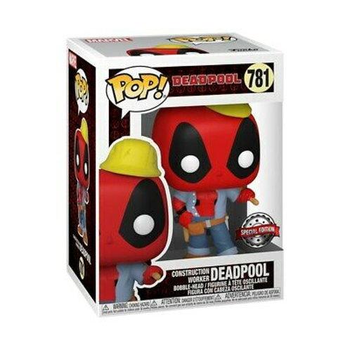 Construction Worker Deadpool Funko Pop! Deadpool #781 Special Edition