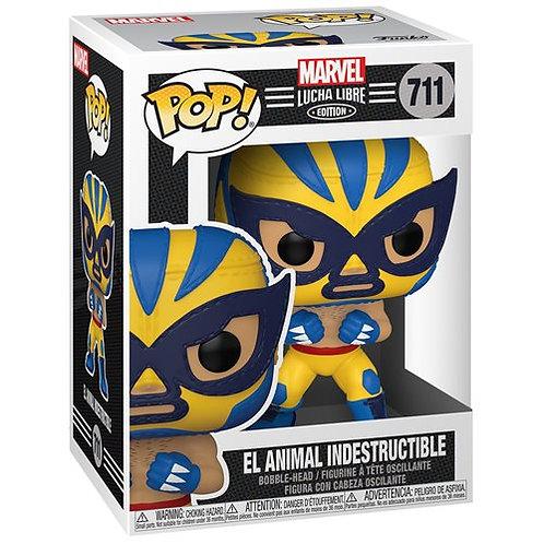 El Animal Indestructible Wolverine Funko Pop! Marvel Luchadores #711