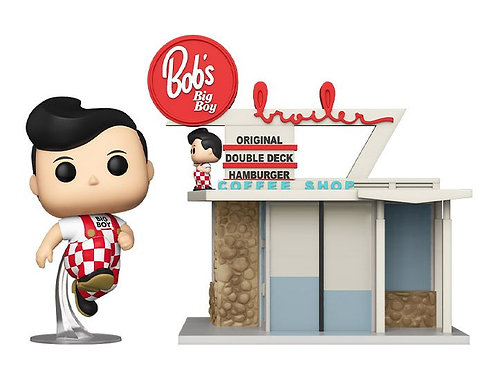 Big Boy with Restaurant Funko Pop! Big Boy's #22