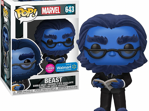 Beast Funko Pop! Marvel FlockedWalmart Exclusive #643