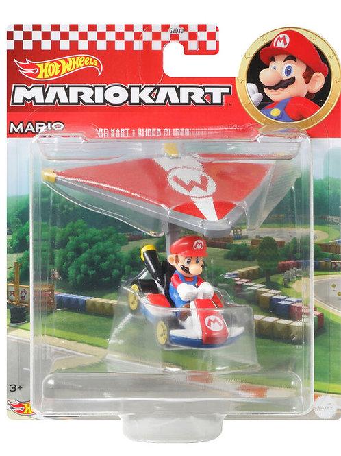 Hot wheels Mario Kart Mario Standard Kart Super Glider