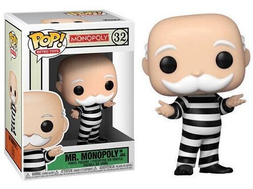 Mr. Monopoly Funko Pop! Monopoly #32