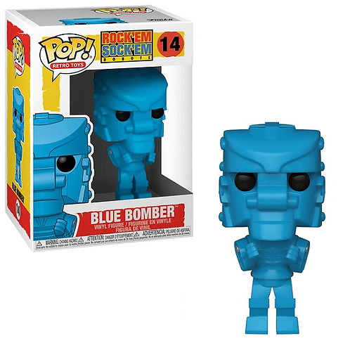 Blue Bomber Funko Pop! Rock'em Sock'em Robots #14