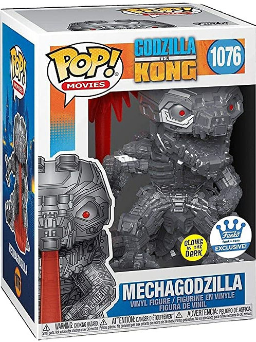 Mechagodzilla Funko Pop! Godzilla Vs Kong GITD Funko Exclusve #1076