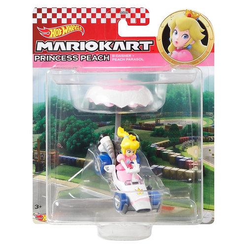 Hot Wheels Mario Kart Princess Peach B-Dasher Peach Parasol