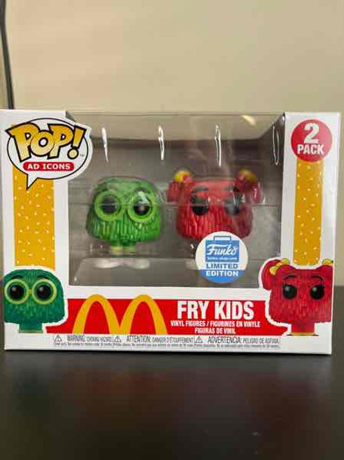 Fry Kids Funko Pop! Mc Donalds Funko Limited 2 Pack