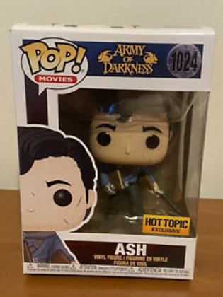 Ash Funko Pop! Army Of Darkness #1024 HotTopic Exclusive