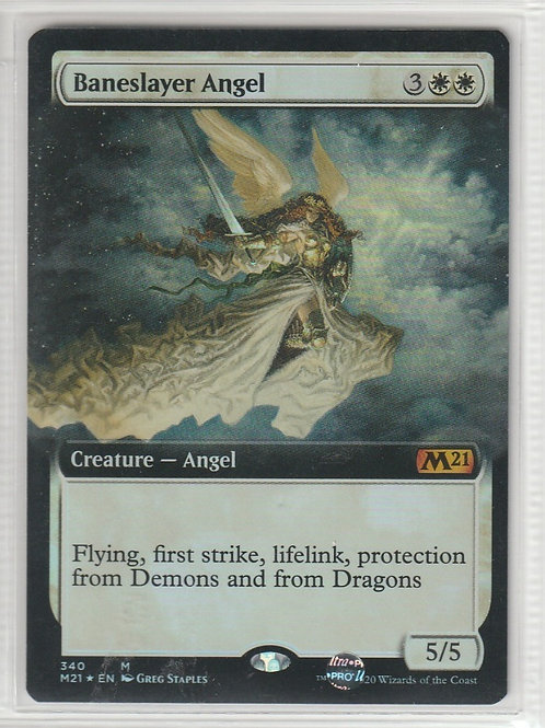 Baneslayer Angel Foil Core Set 2021 #340