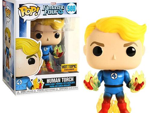 Human Torch Funko Pop! Fantastic Four #569 Hot topic