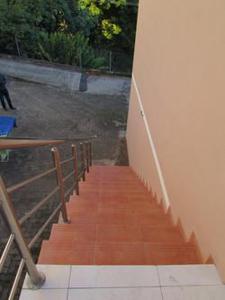 Acesso com escada