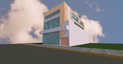 Sala aérea com 64m² privativos