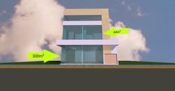 Sala térrea com 300m² privativos