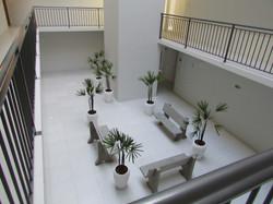 Parte interna do prédio