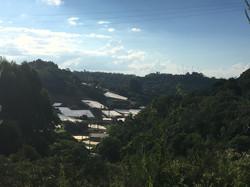 Vista da comunidade São Miguel