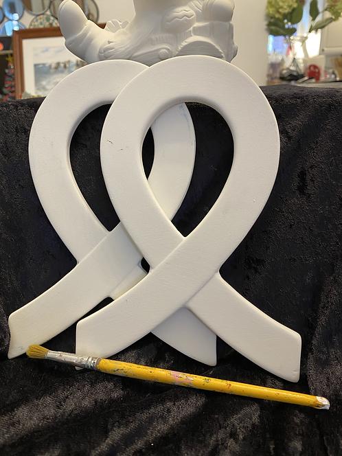 Cancer Ribbon Ceramic