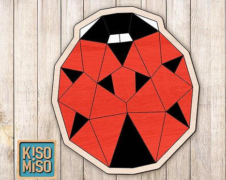 Wood Puzzle Kit-Ladybug