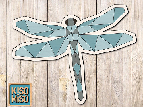 Wood Puzzle Kit-Dragonfly