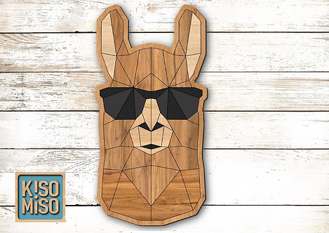 Wood Puzzle Kit-Llama