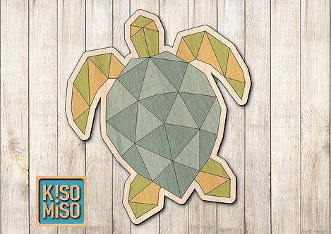 Wood Puzzle Kit-Sea Turtle