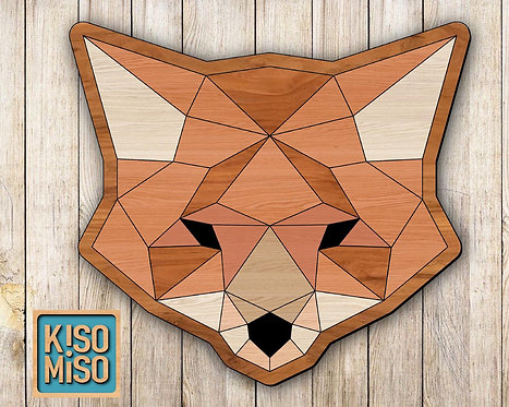 Wood Puzzle Kit-Fox