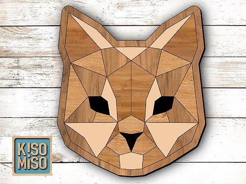 Wood Puzzle Kit- Cat