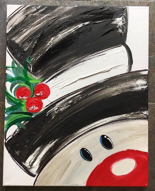 Pre-Stenciled Canvas
